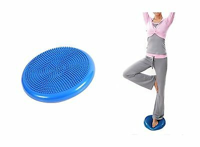 OFKP Wobble Fitness Cushion 34cm with Pump - ADHD - Improves Posture - Co... New