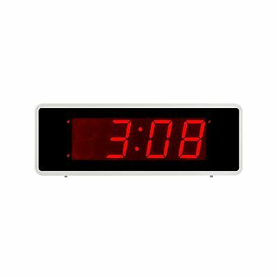 Kwanwa Desk LED Alarm Clock Battery Powered Only2 Batteries Keep Large 1.... New