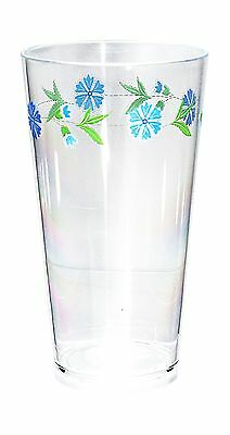 Corelle Coordinates Spring Blue 19-Ounce Round Acrylic Glasses Set of 6 New