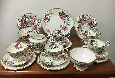 Royal Albert 21 Piece Evening Rhapsody  Tea Set