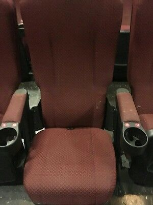 Lot of 400 Movie Cinema Theater Chairs