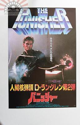 MCH29025 The Punisher 1989 Japan Chirashi Mini Movie Poster Flyer