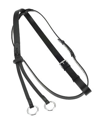 Horze Leather Martingale - martingale/Breastplate