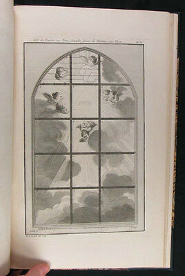 1774 Stained Glass and Glass Painting, Design & Technique -by Pierre le Vieil