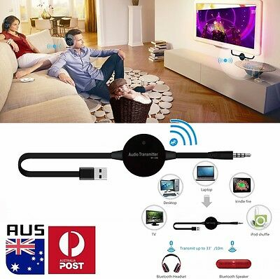Bluetooth A2DP Audio USB Dongle Adapter Transmitter for TV PC Headphone Headset