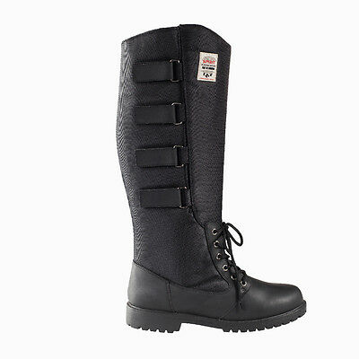 Horze Montana Thermo Tall Boots - Long Horse Riding Boots