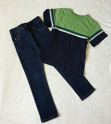 ***Next boys Blue slim jeans and Greendog top 7 years EXCELLENT!!***