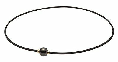 Phiten necklace RAKUWA neck X 100 Mirror ball black gold 40cm Yuzuru Hanyu Japan
