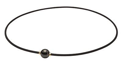 Phiten necklace RAKUWA neck X 100 Mirror ball black/gold 45cm Yuzuru Hanyu Japan