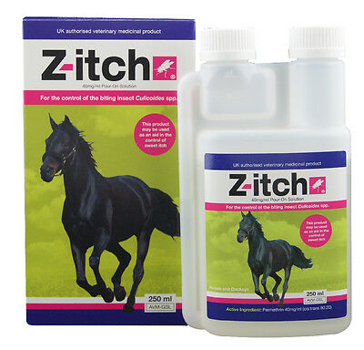 Z-Itch - 250ml - Fly, Louse & Insect Control