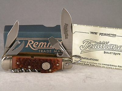 Remington R3843 Trailhand Bullet Knife ~ 1996 ~ New In Box ~ Limited Edition