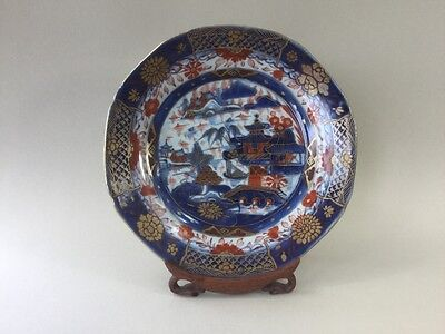 18th/19th Century Chinese Clobbered Plate