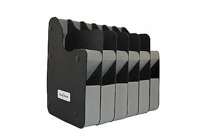 Benchmaster - Weapon Rack - Six (6) Gun Vertical Pistol Rack - Gun Safe Stora...