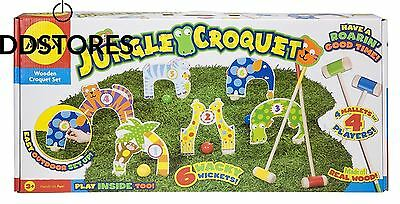 Alex Toys Pretend Play 88j Le Jeu De Croquet Jungle