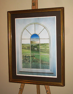 NEIL SIMONE Large Signed and Framed Limited Edition Print 'Changes'