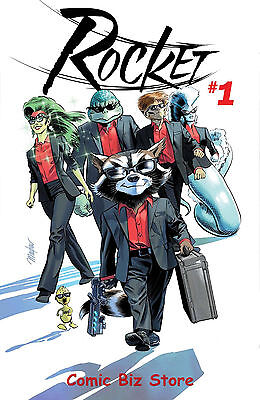 Rocket #1 (2017) 1St Printing Bagged & Boarded Guardains Of The Galaxy