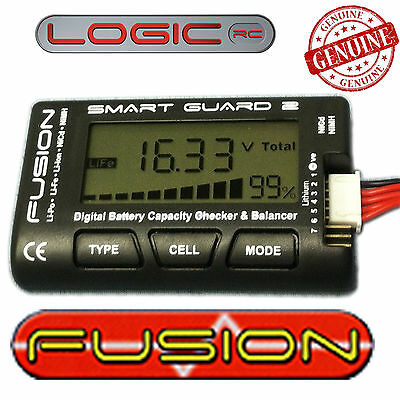 Fusion Smart Guard 2 LiPo Battery Checker & Balancer RC Car Aero Charger FS-BC05