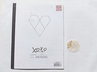 EXO XOXO Album Korean Kiss Version *No Photocard* | Kpop UK Seller
