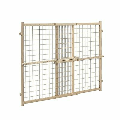 Evenflo Position and Lock Wide Doorway Gate Tan New