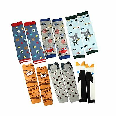 KF Baby Boys Toddler Cozy Soft Leg Warmers Set of 6 Pairs New