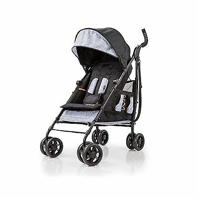 Summer Infant 3D Tote Convenience Stroller Heather Gray New