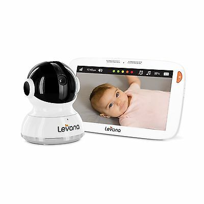 Levana Aria 7inch Touchscreen Video Baby Monitor with PTZ Camera New