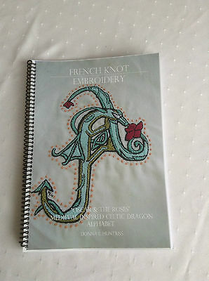 Medieval Dragons French Knot Embroidery Pattern Book