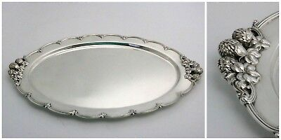 Tiffany & Co. Clover Sterling Silver Tray Directorship Charles T. Cook 1902-1907