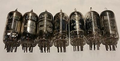 6Am6 Vacuum Tube Valves (7) Untested  Free Shipping. Aussie Seller.