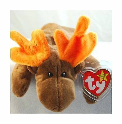 Ty Beanie Babies Chocolate the Moose [Toy] New