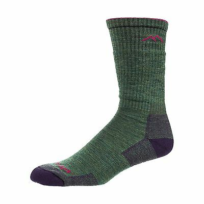Darn Tough Women's Hiker Boot Cushion Socks Moss Heather large (10-11.5) New