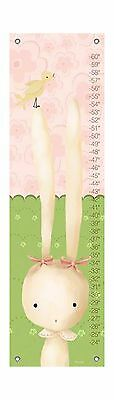Oopsy Daisy Sweet Bunny Growth Chart by Meghann O'Hara 12 by 42 Inch New