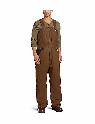 Dickies Men's Sanded Duck Bib Overall Timber 2X Regular New