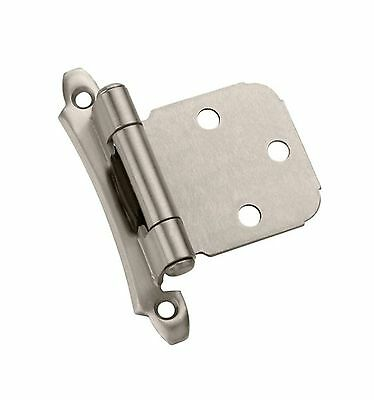 Amerock BP7929-G10 Variable Overlay Modern Face Mount Self-Closing Hinge ... New