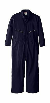 Walls Work Men's Big-Tall Long Sleeve Twill Coverall Navy 66/Regular New
