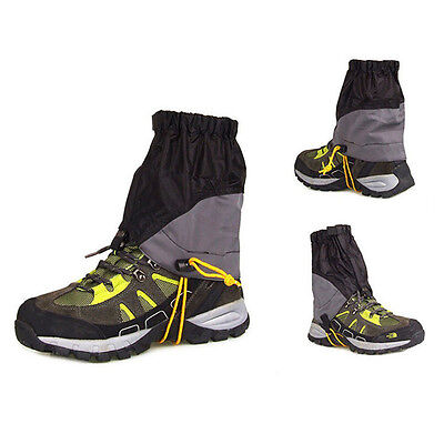 Waterproof Outdoor Shoes Gaiters Ultralight Ankle Foot Cover For Hiking Skiing