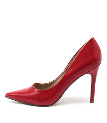 New Verali Harold Red Womens Shoes Dress Shoes Heeled