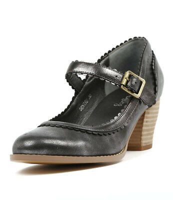New I Love Billy Denise Pewter Womens Shoes Dress Shoes Heeled