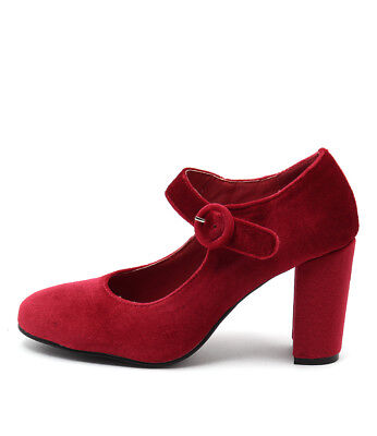New I Love Billy Miranda Red Womens Shoes Casual Shoes Heeled