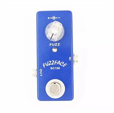 MOSKY Mini FUZZ FACE Guitar Effect Pedal