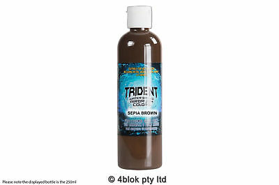 DNA Trident airbrush paint sepia brown waterbased 250ml T09-250