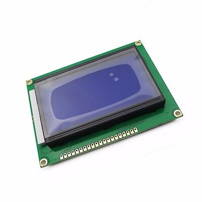 5V ST7920 128x64 12864 LCD Display Blue Backlight Parallel Serial for Arduino