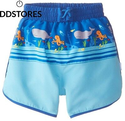 I Play Mix And Match Ultimate Swim Nappy Panel Board Short de Surfeur avec...