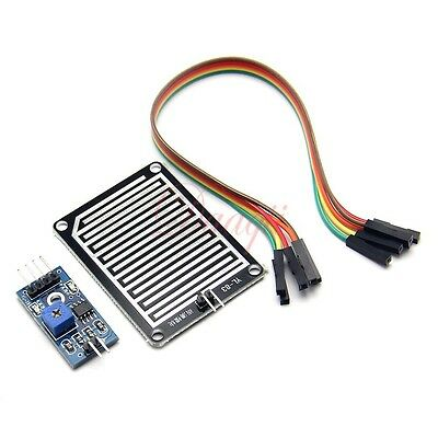 Rain detector module & relay interface kit - Control the relay with moisture