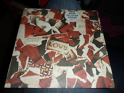 The Stone Roses.one Love 7'' Vinyl Paper Labels With Postcard