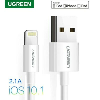 Ugreen Original Genuine Apple iPhone 8 7S Plus 6 Lightning USB Cable Charge 3FT