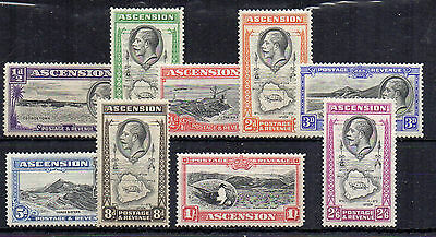 Ascension 1934 values to 2s 6d MVLH/MLH