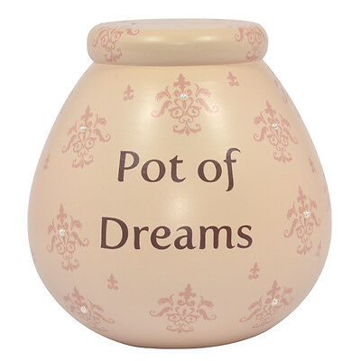 Pot Of Dreams Money Box Savings Piggy Bank Many Designs To Choose From