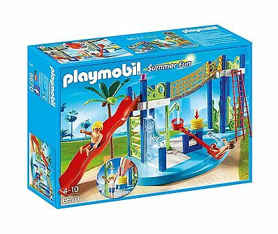 Playmobil 6670 Water Park Play Area Playset New