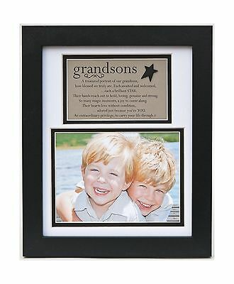 The Grandparent Gift Frame Wall Decor Grandsons New